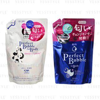 Shiseido - Senka Perfect Bubble For Body Refill 350ml - 2 Types