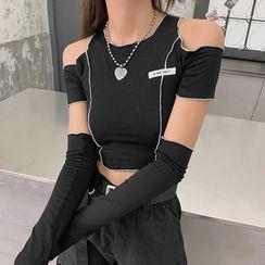 Sugarcoat - 套装: 短袖T裇 + 袖