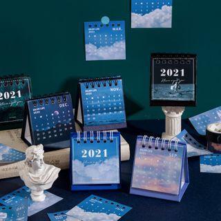 Monez - 2021 Desktop Calendar (various designs)