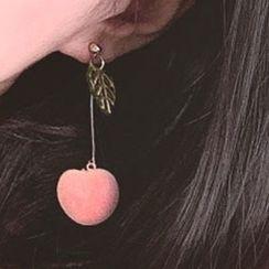Joodii - Peach Drop Earring