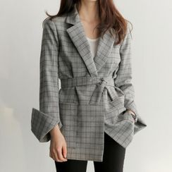 Coheat - Plaid Blazer