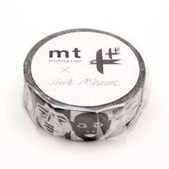 mt - mt Masking Tape : mt x Erik Bruun Face
