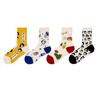 ASAIDA - 印花袜子(多款设计)