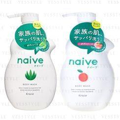 Kracie - Naive Body Wash 530ml - 2 Types