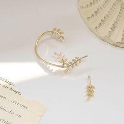 Catalunya - Alloy Leaf Earring
