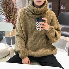 CHIC ERRO  - Turtleneck Sweater