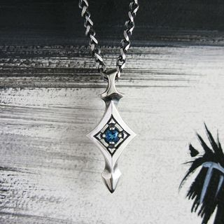 Sterlingworth - 'Fallin-W' Sterling Silver Chain Necklace