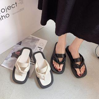 QQ Trend - Platform Flip-Flops