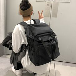 Willow Bloom - Lightweight Drawstring Backpack