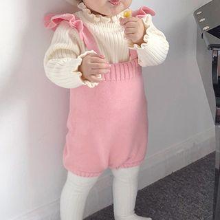 MOM Kiss - Baby Ruffle Bodysuit