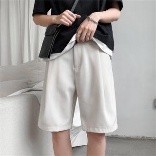 Antaeus(アンテウス) - Plain Dress Shorts