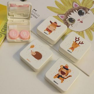 Voon - Animal Print Contact Lens Case