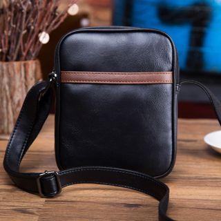 TESU - Faux Leather Crossbody Zipper Bag