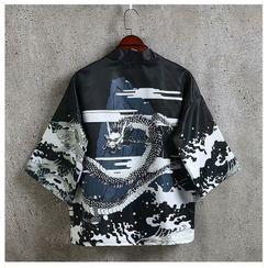 Acrius - Print Kimono Jacket