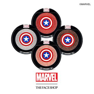 THE FACE SHOP - Single Shadow Jelly (4 Colors) (Marvel Edition)