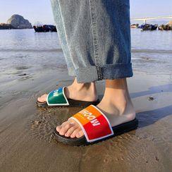 Fireon - Lettering Slide Sandals