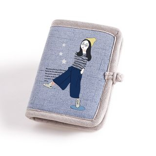 Lozynn - Cartoon Girl Fabric Wallet