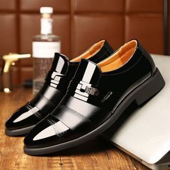 Junster  - Faux-Leather Metal-Accent Loafers