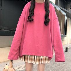 Mushini - Loose Fit  Long-Sleeve T-Shirt