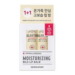 DERMATORY - Hypoallergenic Moisturizing Mild Lip Balm Set