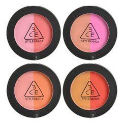 3CE - Duo Color Face Blush (5 Colors)