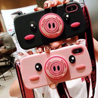 Stardigi - Pig Printed Phone Case - iPhone X / 8P / 8 / 7p / 7 / 6SP / 6S / 6P / 6
