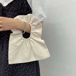 icecream12 - Banded-Handle Canvas Hand Bag