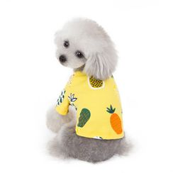 Fabcast - Fruit Print Pet Top