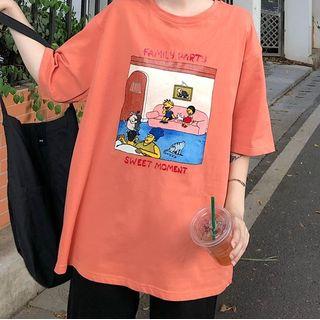 IndiGirl - Short Sleeve Print T-Shirt