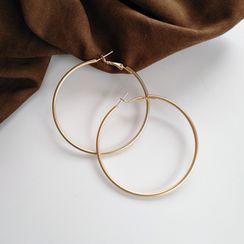 Yambo - Alloy Hoop Earring