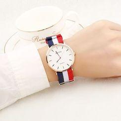 Epoca - Retro Canvas Strap Watch (various designs)