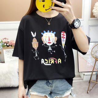 Chogen - Short-Sleeve Print T-Shirt
