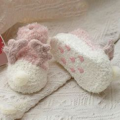 Fluff Muff - Kids Animal Slipper Socks