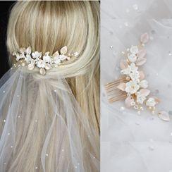 Vivian Design - Wedding Flower Hair Comb