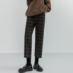 Luminato - Cropped Straight-Fit Pants