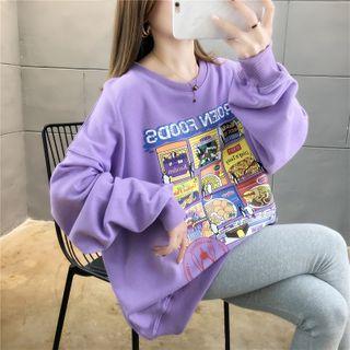 Jewie - Printed Oversize Pullover