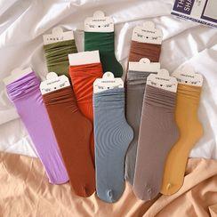 Michu - Plain Socks
