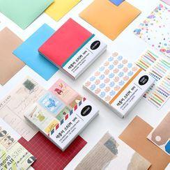 iswas - ''Indigo'' Series Origami Paper (50pcs)
