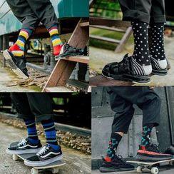 Guliga - 條紋襪子
