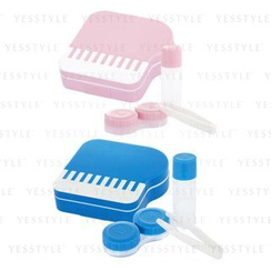 YesStyle Beauty - Piano Contact Lens Case Set - 2 Types