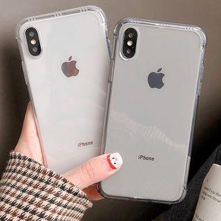 Milk Maid - 透明手機保護套 - iPhone 6 / 6 Plus / 7 / 7 Plus / 8 / 8 Plus / X/ XR / XS / XS MAX