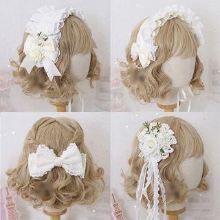 Elfis - 蕾絲髮箍 / 髮夾