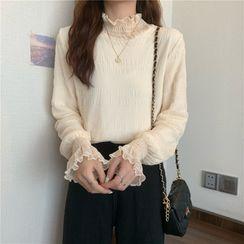 Shinsei - 荷葉邊襯衫