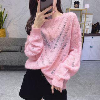 Bosilka - See-Through Sweater