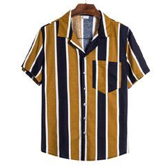 Fireon - Short-Sleeve Striped Shirt