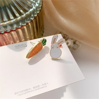 Madikara - Rabbit  Sterling Silver Ear Stud