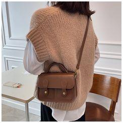 Youshine - Faux Leather Satchel Crossbody Bag