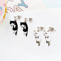 Yambo - Cat Earrings (2 Types)