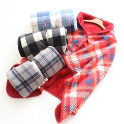 Dogini - Flannel Shawl Blanket