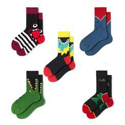 Guliga(グリガ) - Couple-Matching Animal-Print Socks